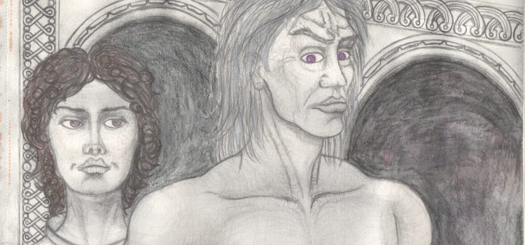 Daemon Targaryen & the girl Nettles from 'The Dying of the Dragons', Fire and Blood by GRRM